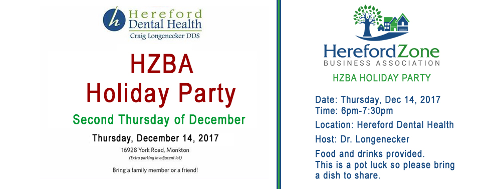 HZBA Holiday Party Dec 14, 2017 hosted by Hereford Dental Health Dr. Craig Longenecker, DDS