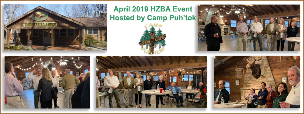 HZBA 2019 April Networking Event at Camp Puh'tok